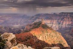 皇家的点,大峡谷,亚利桑那 免版税图库摄影