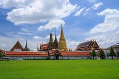 皇家盛大宫殿,泰国 免版税库存照片
