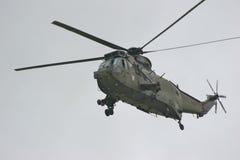 皇家直升机的海军 库存图片