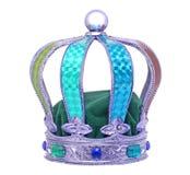 皇家礼仪五颜六色的冠 免版税库存图片