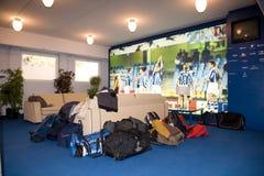 皇家社会队体育场的霍尔在Donostia 图库摄影