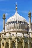 皇家穹顶宫圆顶在布赖顿在英国的东萨塞克斯郡 免版税库存图片