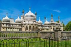 皇家穹顶宫在布赖顿在东萨塞克斯郡英国 免版税库存图片