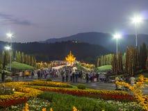皇家穹顶宫,皇家公园Rajapruek 图库摄影