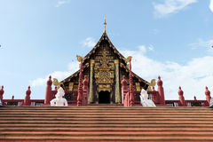 皇家穹顶宫& x28; Ho西康省Luang& x29;在皇家公园近Rajapruek 免版税库存图片
