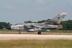 皇家空军台风 免版税图库摄影