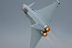 皇家空军台风 库存照片