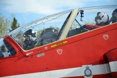 皇家空军特技飞机 图库摄影