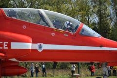 皇家空军特技飞机 库存照片
