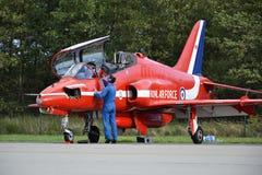 皇家空军特技飞机 免版税库存图片