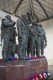皇家空军轰炸机命令纪念品-伦敦-英国 库存照片