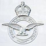 皇家空军轰炸机命令纪念品-伦敦-英国 免版税图库摄影