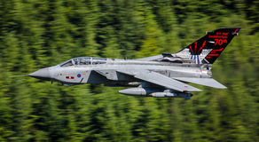 皇家空军龙卷风喷气式歼击机 库存照片