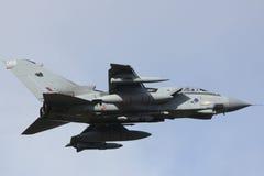 皇家空军龙卷风 库存图片