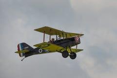 皇家空军SE5a葡萄酒战机 免版税库存照片