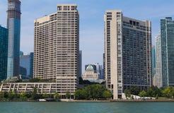 皇家约克饭店和现代公寓房 库存图片
