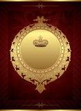 皇家背景的设计 库存照片