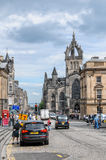 皇家英里。爱丁堡 免版税库存图片