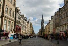 皇家英里爱丁堡 免版税库存图片