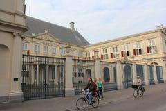 皇家荷兰语系列noordeinde的宫殿 库存图片