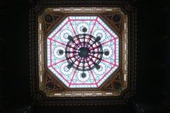 皇家葡萄牙阅览室-里约热内卢 免版税图库摄影
