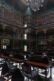 皇家葡萄牙阅览室-里约热内卢 库存图片