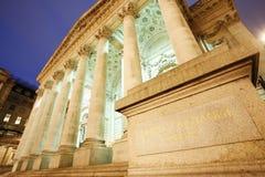 皇家证券交易所 免版税图库摄影