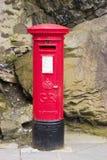 皇家配件箱的邮件 库存图片