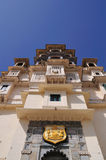 皇家门的宫殿 库存图片