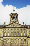 皇家阿姆斯特丹的宫殿 免版税库存照片