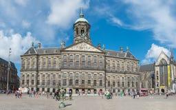 皇家阿姆斯特丹的宫殿 库存照片