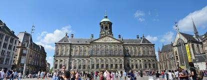 皇家阿姆斯特丹的宫殿 免版税图库摄影