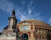 皇家阿尔伯特霍尔,南肯辛顿,伦敦 库存照片