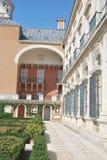 皇家阿雷胡埃斯的宫殿 免版税库存照片