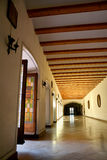 皇家霍尔在普伊格,西班牙圣玛丽修道院里  库存图片