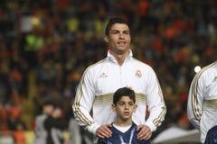 皇家马德里球员 免版税库存图片