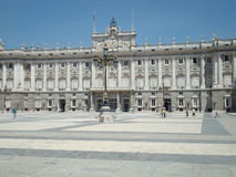 皇家马德里的宫殿 库存图片