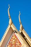 皇家结构上详细资料的宫殿 库存图片