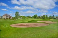 皇家Bromont高尔夫俱乐部 免版税库存图片