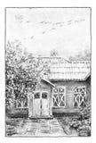 皇家caserta庭院房子老的宫殿 免版税图库摄影