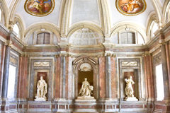 皇家caserta的宫殿 库存图片