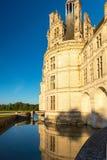 皇家Chateau de Chambord,法国 库存图片
