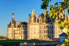 皇家Chateau de Chambord,法国 免版税库存照片
