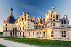 皇家Chateau de Chambord,法国 免版税库存图片