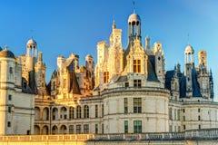 皇家Chateau de Chambord,法国 库存照片