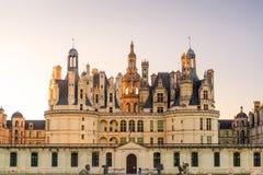 皇家Chateau de Chambord,法国 免版税图库摄影