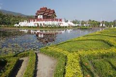 皇家Chiang Mai的宫殿 库存图片