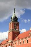 皇家clocktower的宫殿 免版税库存照片