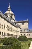 皇家escorial的宫殿 免版税库存照片