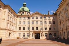 皇家Hofburg在因斯布鲁克 免版税图库摄影